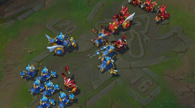 Imagen de Riot arreglará un error en LoL desde la alpha: los minions azules 'hacen más daño'