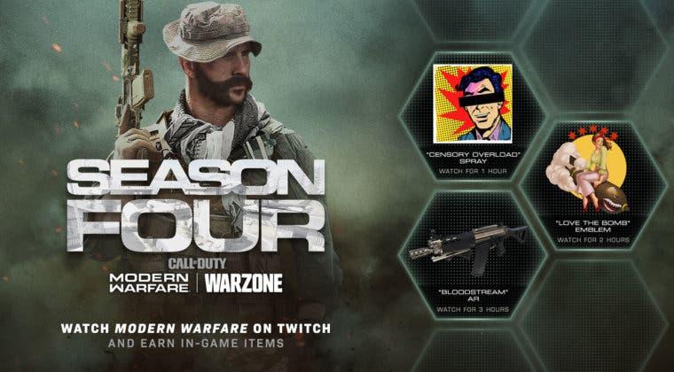 Imagen de Consigue cosméticos gratis en Modern Warfare y Warzone gracias a Twitch