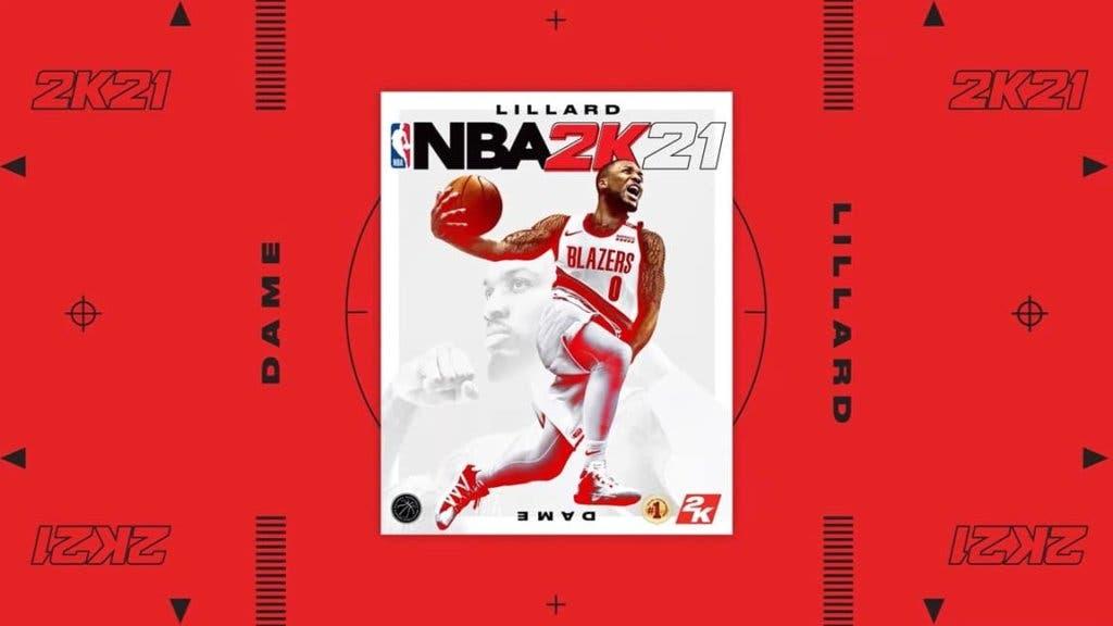 NBA 2K21 Lillard