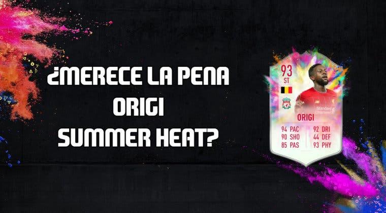Imagen de FIFA 20: ¿Merece la pena Origi Summer Heat? + Solución de su SBC