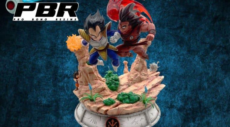 Imagen de Dragon Ball: Imágenes exclusivas de la figura de Goku y Vegeta de Pro Bono Resins