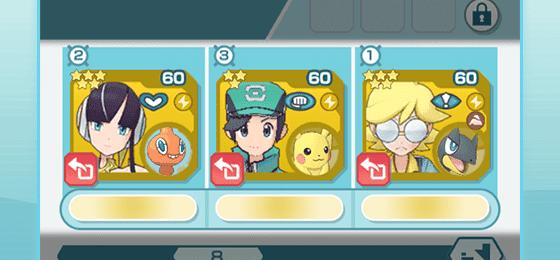 Pokémon Masters habilidades de tipo