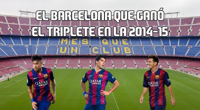 Imagen de FIFA 20: el Barcelona que ganó el triplete en la 2014-15 en Ultimate Team