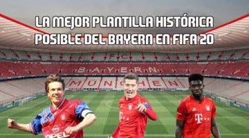 Imagen de FIFA 20: la mejor plantilla histórica posible del Bayern en Ultimate Team