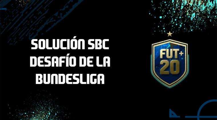 Imagen de FIFA 20: solución al SBC 'Desafío de la Bundesliga'