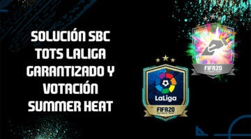 Imagen de FIFA 20: solución a los SBC's 'TOTSSF LaLiga garantizado' y 'Votación Summer Heat'