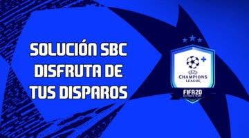 Imagen de FIFA 20: solución al SBC 'Disfruta de tus disparos'