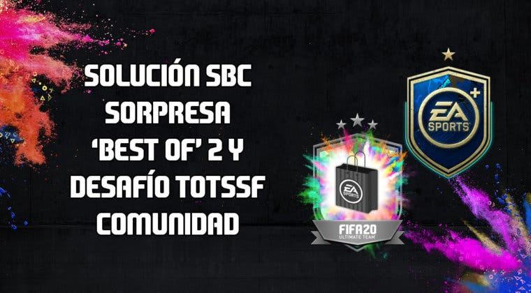 Imagen de FIFA 20: solución a los SBC's 'Sorpresa mejor lanzamiento 2' y 'Desafío TOTSSF de la Comunidad'