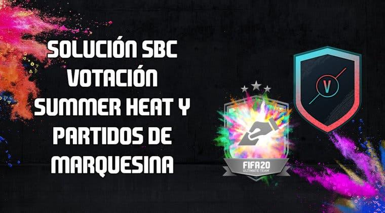 Imagen de FIFA 20: solución a los SBC's 'Votación Summer Heat' y 'Partidos de Marquesina'