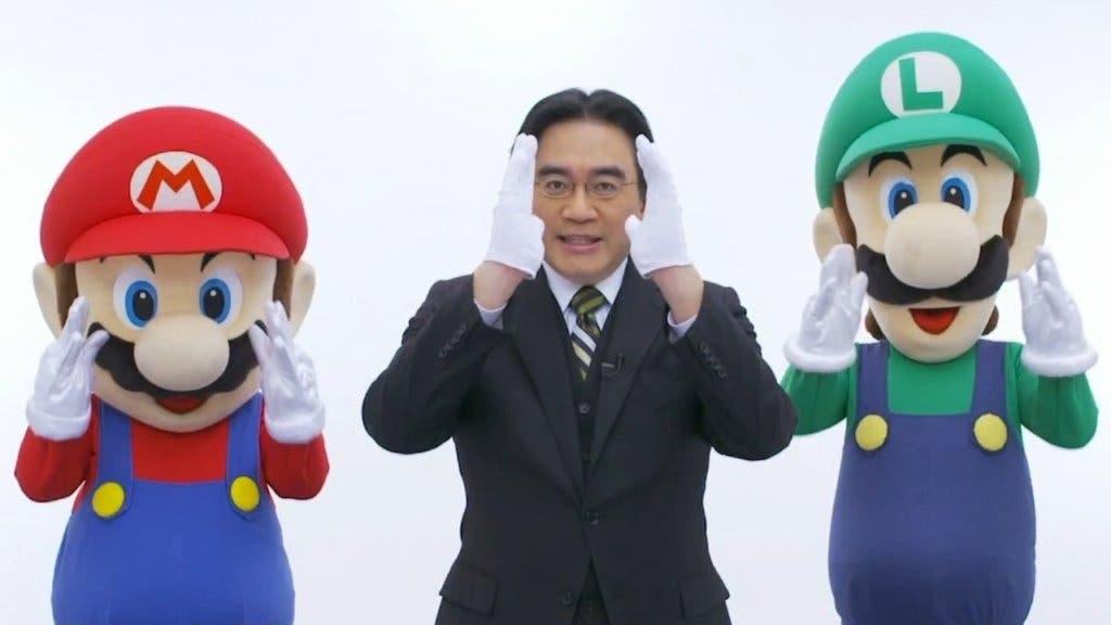 Satoru Iwata Nintendo Direct