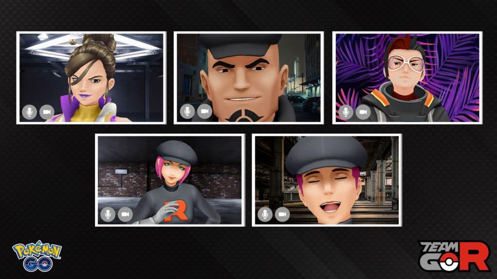 Team Rocket Pokémon GO reunión virtual