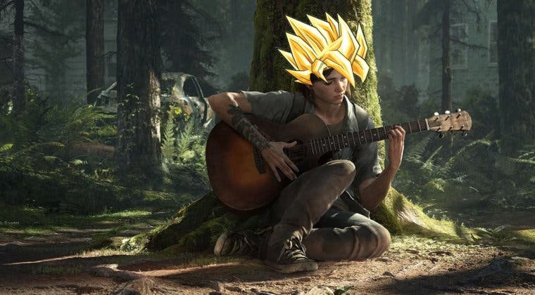 Imagen de Tocan el tema de Dragon Ball GT en The Last of Us 2 con la guitarra de Ellie