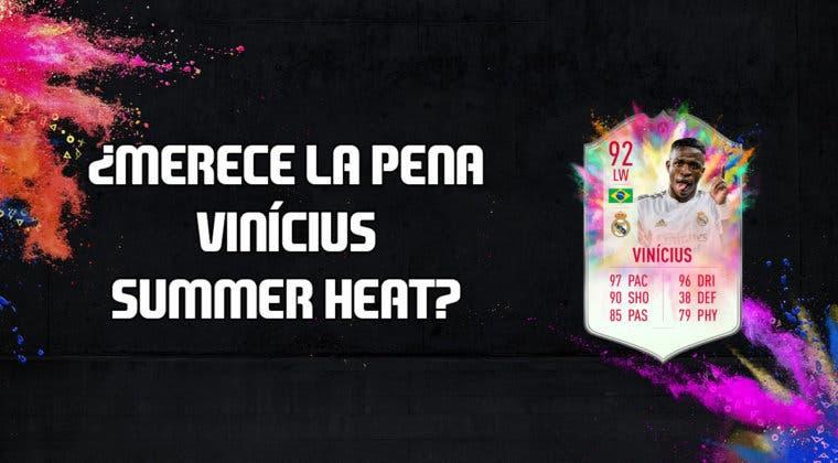 Imagen de FIFA 20: ¿Merece la pena Vinicius Summer Heat? + Solución de su SBC