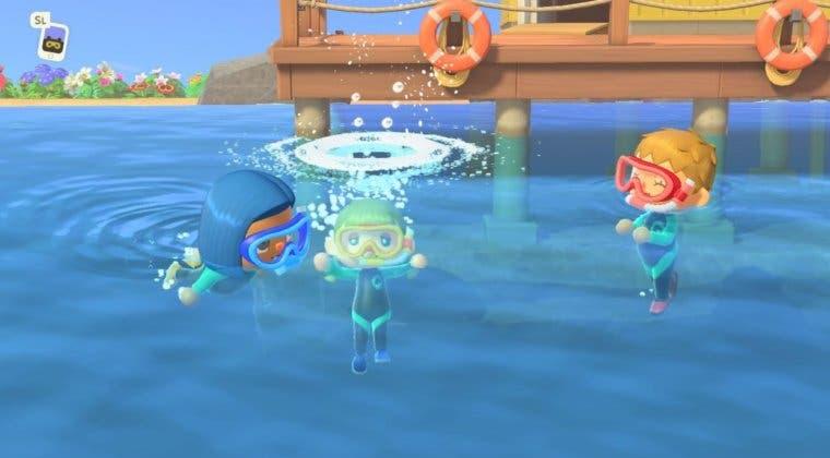 Imagen de Animal Crossing: New Horizons - cómo conseguir el traje de baño para nadar y bucear