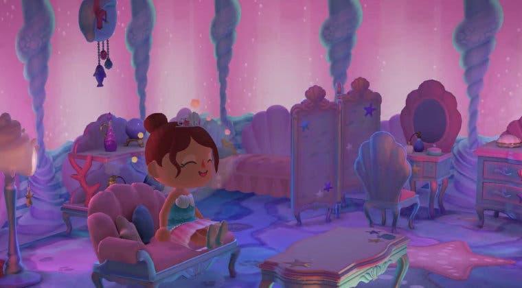 Imagen de Animal Crossing: New Horizons - cómo conseguir recetas de sirena y las perlas para construirlas