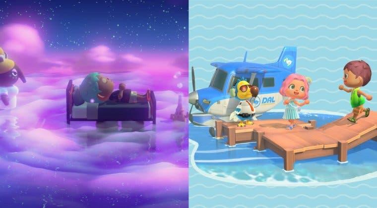 Imagen de Animal Crossing: New Horizons - ¿en qué se parece y diferencia el viaje en sueño del normal?