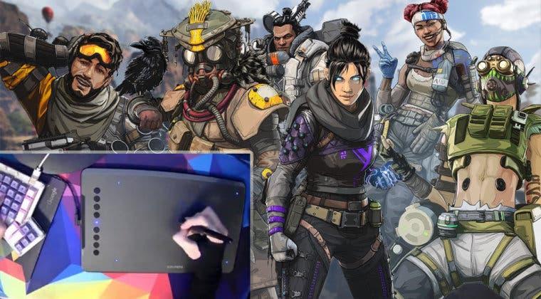 Imagen de Un jugador de Apex Legends domina las partidas con un lápiz