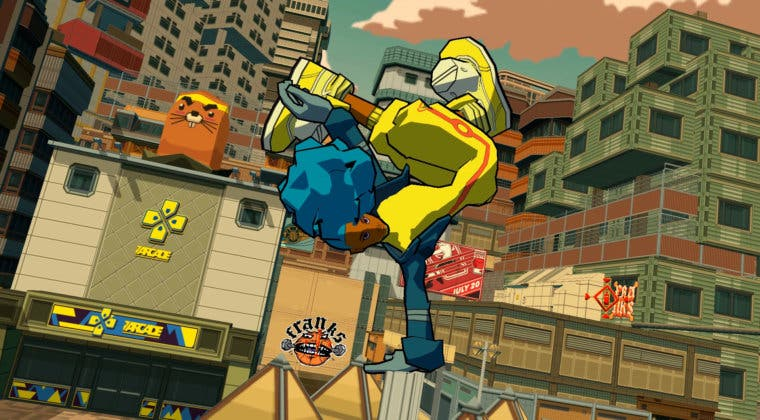 Imagen de Bomb Rush Cyberfunk se lanzará también en consolas