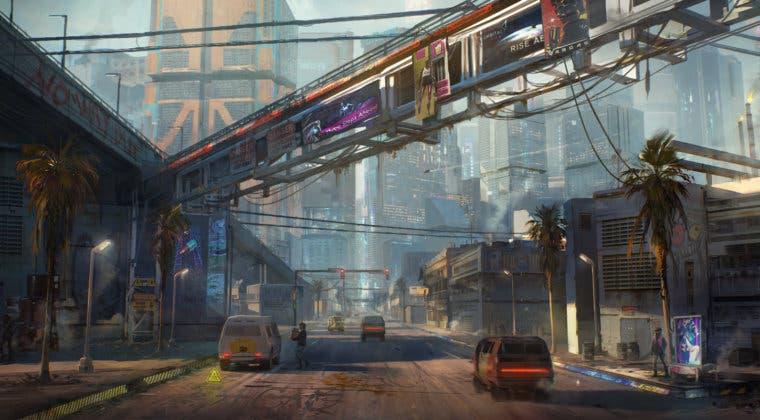 Imagen de CD Projekt RED muestra Santo Domingo en nuevos artes conceptuales de Cyberpunk 2077
