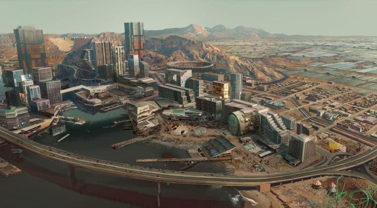 Imagen de Cyberpunk 2077 publica más artes conceptuales y presenta Pacifica