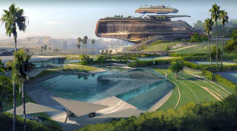 Imagen de Cyberpunk 2077: se muestra en nuevas imágenes la zona más lujosa de Night City