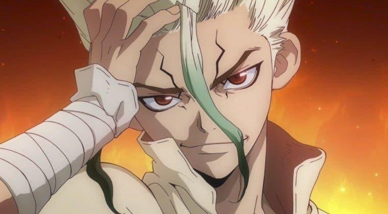 Imagen de Dr. Stone fecha el estreno de su temporada 2 de anime