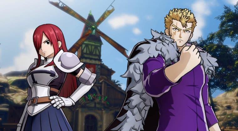 Imagen de Fairy Tail presenta un extenso gameplay de la mano de los actores de voz de Erza y Laxus