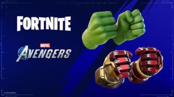 Imagen de Guía para conseguir los puños de Hulk y Iron-Man en Fortnite con la beta de Marvel's Avengers
