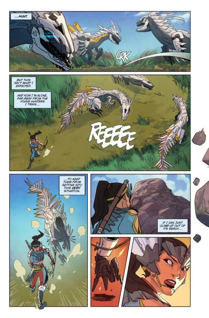horizon zero dawn comic 1