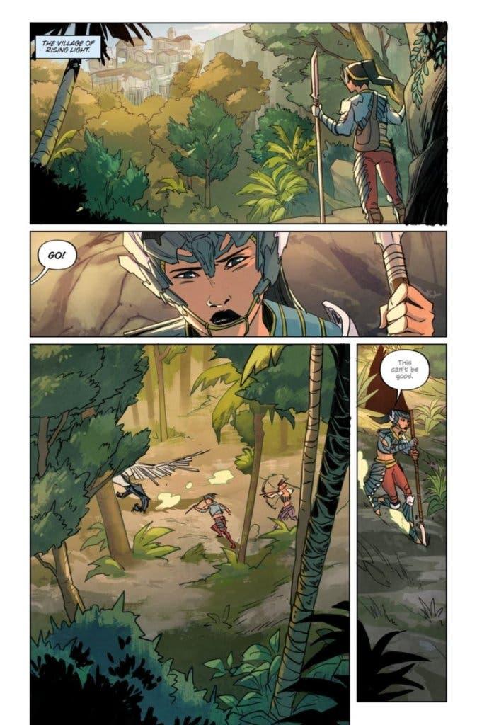 horizon zero dawn comic 3