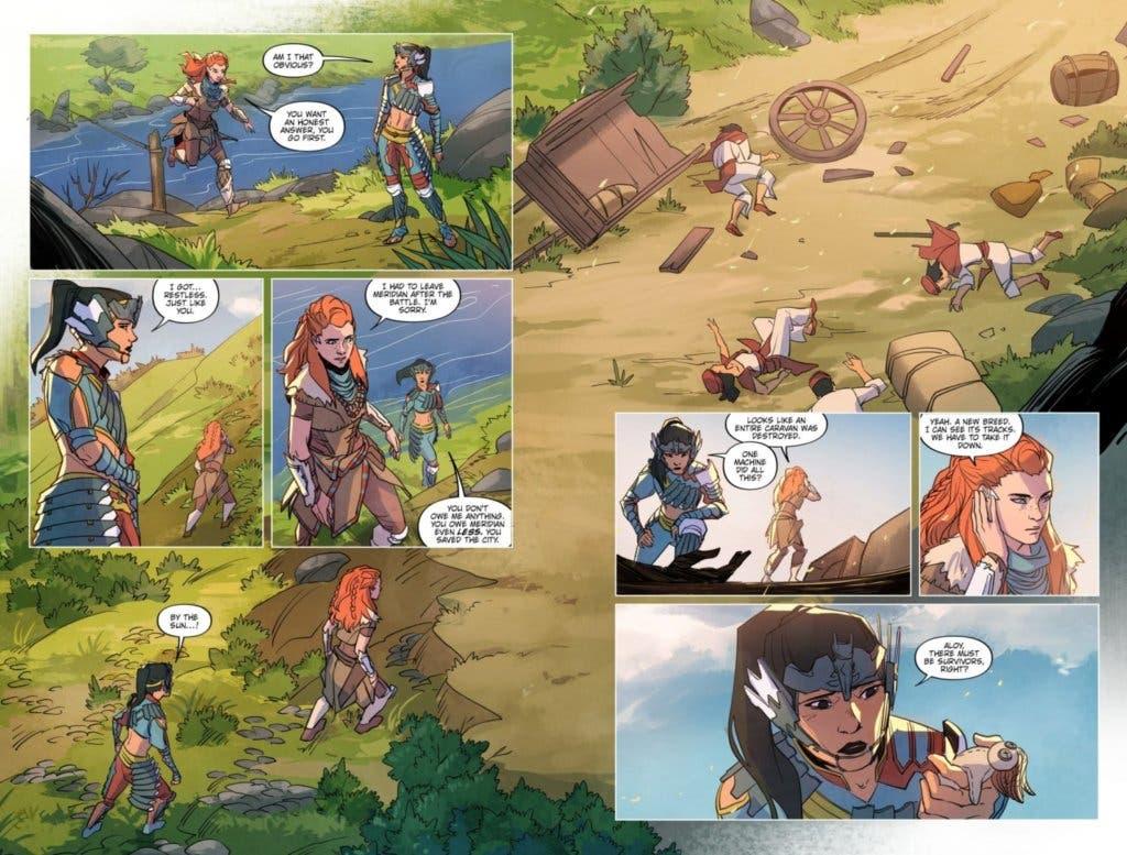 horizon zero dawn comic 4