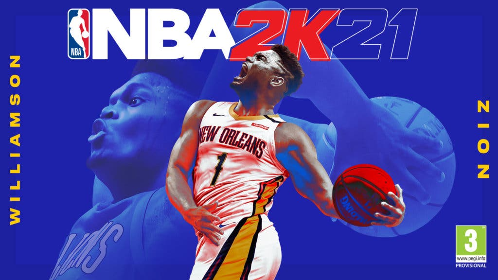 NBA 2K21 Portada