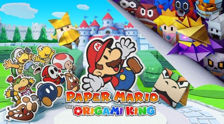 Imagen de Las 4 claves que convierten a Paper Mario: The Origami King en el título de Switch más importante de 2020