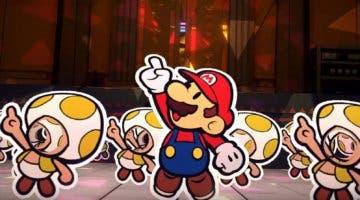 Imagen de Paper Mario: The Origami King se luce en un nuevo gameplay a una semana de su lanzamiento