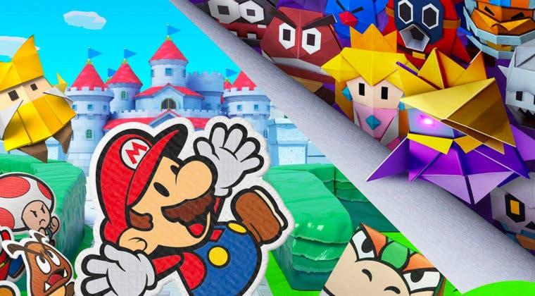 Imagen de Decora tu móvil con estos fondos de pantalla de Paper Mario: The Origami King