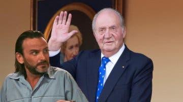 Imagen de Fermín Trujillo, de La que se avecina, y el Rey Juan Carlos I, comparten un curioso listado