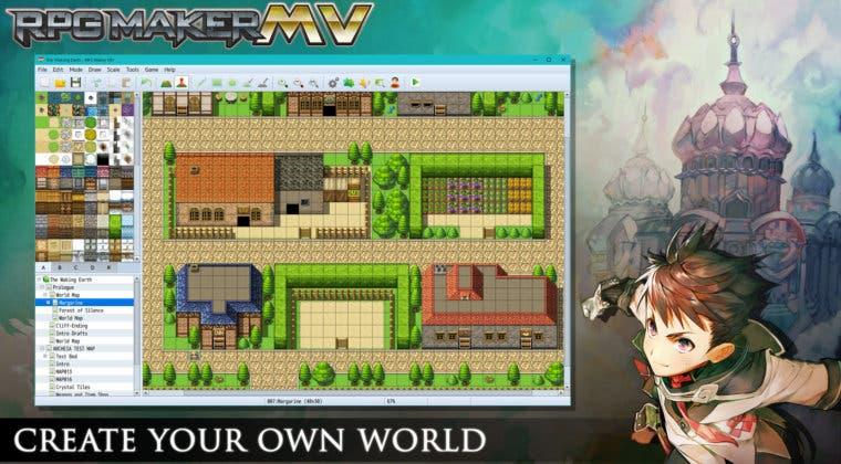 Imagen de Confirmada la fecha de lanzamiento de RPG Maker MV para consolas