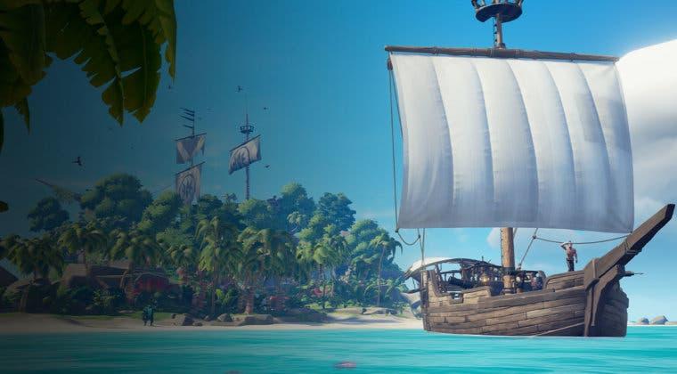 Imagen de Sea of Thieves consigue su mejor mes en jugadores gracias al lanzamiento en Steam