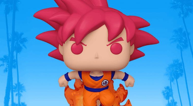 Imagen de Goku Super Saiyan God  tiene nuevo Funko Pop por la SDCC
