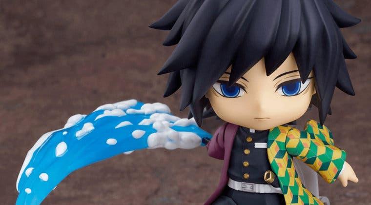 Imagen de Kimetsu no Yaiba muestra el Nendoroid oficial de Tomioka
