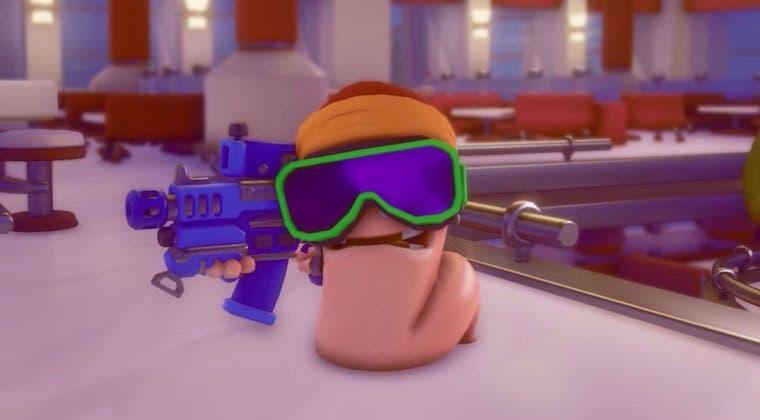 Imagen de Anunciado Worms Rumble para PS5, PS4 y PC; la saga se pasa a la acción en tiempo real