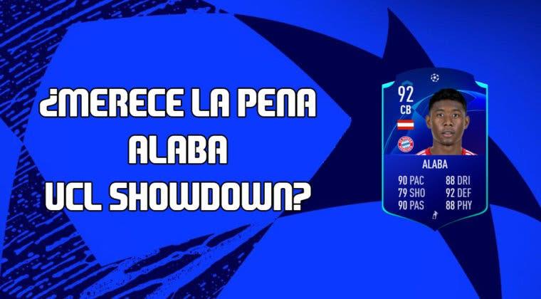 Imagen de FIFA 20: ¿Merece la pena David Alaba UCL Showdown? + Solución de su SBC