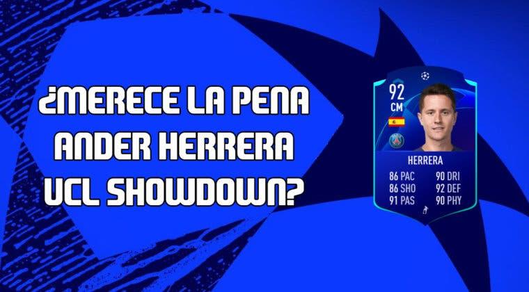 Imagen de FIFA 20: ¿Merece la pena Ander Herrera UCL Showdown? + Solución de su SBC