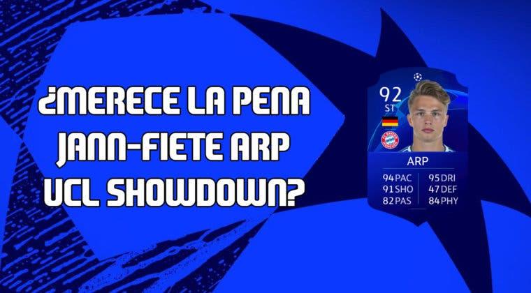 Imagen de FIFA 20: ¿Merece la pena Jann-Fiete Arp UCL Showdown? + Solución de su SBC