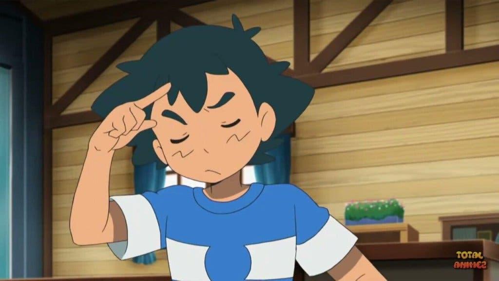 Ash pensando