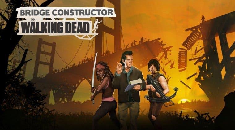Imagen de Anunciado Bridge Constructor: The Walking Dead, un sorprendente crossover para PC, consolas y móviles
