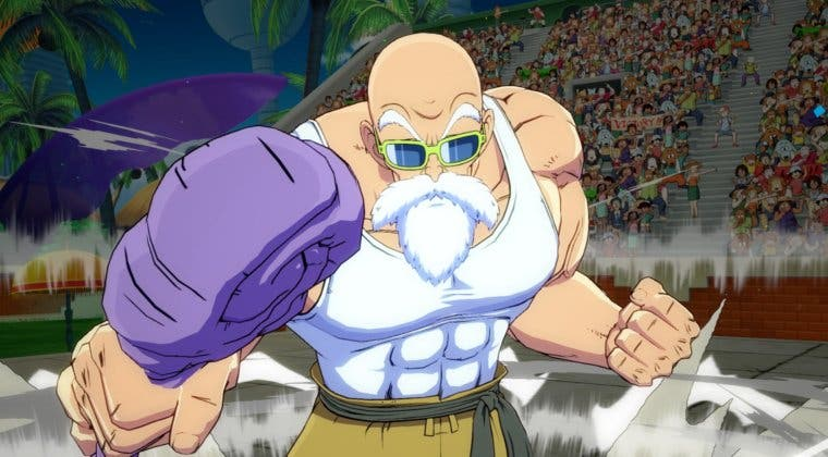 Imagen de Dragon Ball FighterZ: Fecha y gameplay del Maestro Roshi