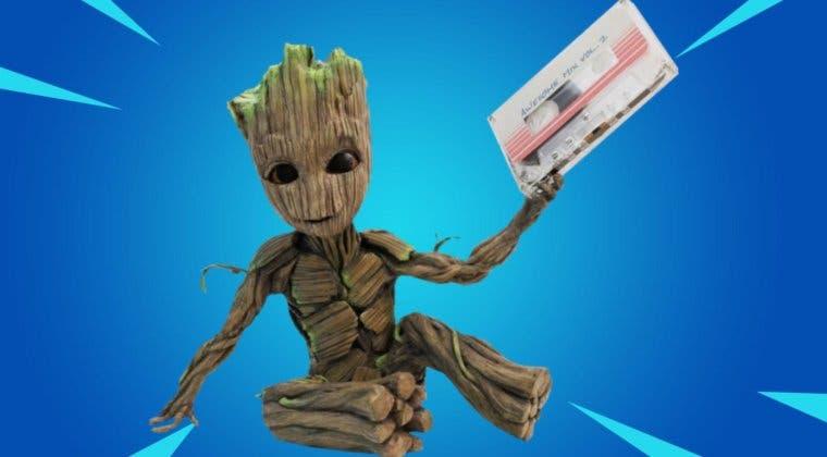 Imagen de Fortnite: guía de los desafíos del despertar de Groot arbolito