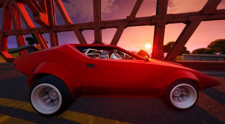 Imagen de Así es el nuevo bug de Fortnite que te mata instantáneamente al conducir un coche