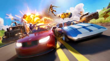Imagen de Descubren un glitch de Fortnite que te permitirá volar con los nuevos coches